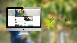 Site internet du Clos de la Charité